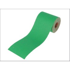 Faithfull Aluminium Oxide Paper Roll Green 115 mm x 5m 120G