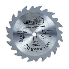 Craft saw blade 136 x 24 teeth x 20 thin Circular Saw Blade