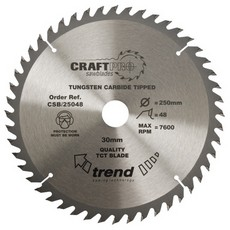 Craft saw blade 300mm x 48 teeth x 30mm