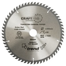 Craft saw blade 350mm x 64 teeth x 30mm