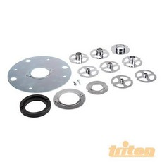 Triton Plunge Template Guide Kit 12pce TGA250