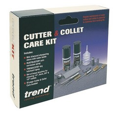 Trend Router Cutter & Collet Care Kit