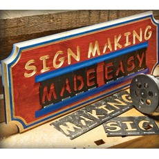 Bench Dog Lettering Sign Kit 43pce