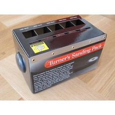 Turners Sanding Packs 5 Grit Pack