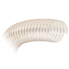 Yandles 200mm diameter, transparent flexible hose