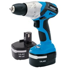 DRAPER 14.4V Cordless Rotary Drill with Two Batteries 20494