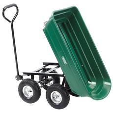 DRAPER Gardeners Cart with Tipping Feature