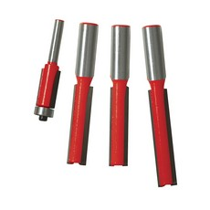 Kitchen Router Bit Set 4pce                                            1/2' / 1/4'