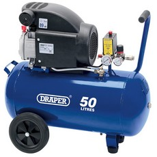 DRAPER 50L 230V 1.5kW (2hp)  Air Compressor