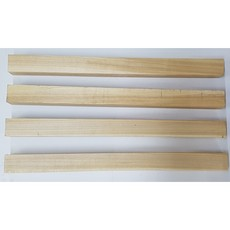 Hardwood Baseball Bat / Billet Woodturning Spindle Blanks Kiln Dried