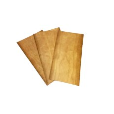 Guitar / Mandolin Headstock hardwood Veneer 3 Pack Cherry