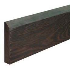 Wenge Skirting Chamfer