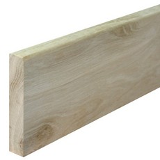 Character Oak Skirting Small Round