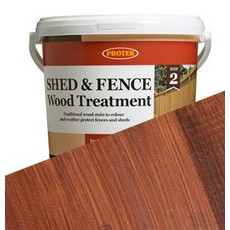 Protek Shed & Fence Wood Stain & Protect Treatment Waterproof  Finish 5L