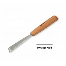 Stubai 10mm Skew Carving Chisel No1 Sweep
