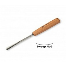 Stubai 6mm Straight Carving Gouge No6 Sweep