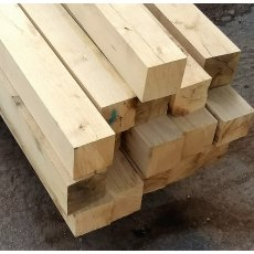 Fresh Sawn Oak Posts 100x100 Beams 2m