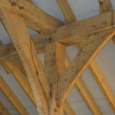 Fresh Sawn Oak Posts 175x175 Beams 2m