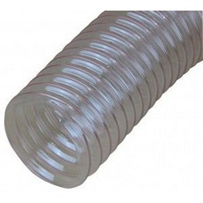 "CamVac 2.5"" Standard Superflex Wire Bound Hose (Clear)"