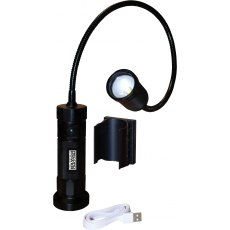 Record Power Magnetic LED Work Light with Flexible Neck