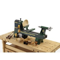 Record Power DML305 Cast Iron 6 Speed Midi Lathe