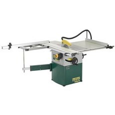 "Record Power TS250RS Cast Iron 10"" Table Saw with Sliding Beam"