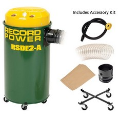 Record Power RSDE2A Automatic Dust Extractor 55L, 1000W c/w Accessory Pack