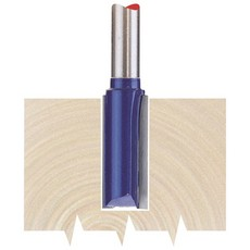 DRAPER 1/4' Straight 10 x 25mm TCT Router Bit