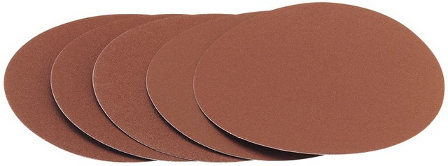 Draper DRAPER Five Assorted Grit Sanding Discs for Ds305