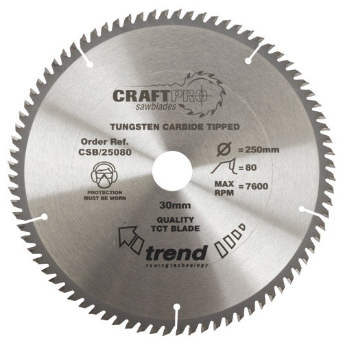 Trend Soft Grip Hardpoint Tenon Saw (250mm)