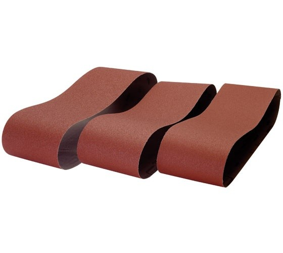 Record Power Record Power 150 x 1220mm 80 Grit 3 Pack of Sanding Belts for BDS250