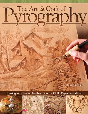 GMC Publications The Art & Craft of Pyrography