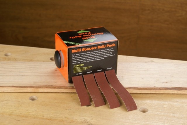 Planet Planet Turners Sanding Packs 4 Grit Pack