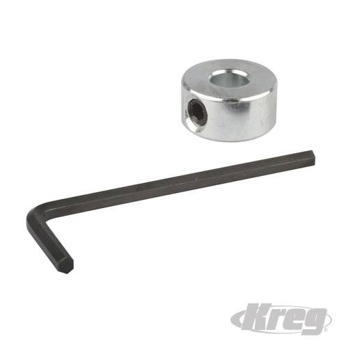 Kreg Depth Collar & Hex Wrench for Micro Drill Bit