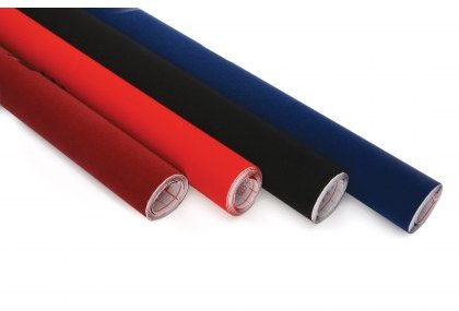 Craft Supplies Black Baize - Roll