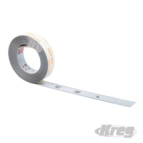 Kreg Self-Adhesive Measuring Tape Imperial 3.65m (12')