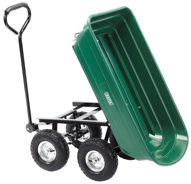 Draper DRAPER Gardeners Cart with Tipping Feature