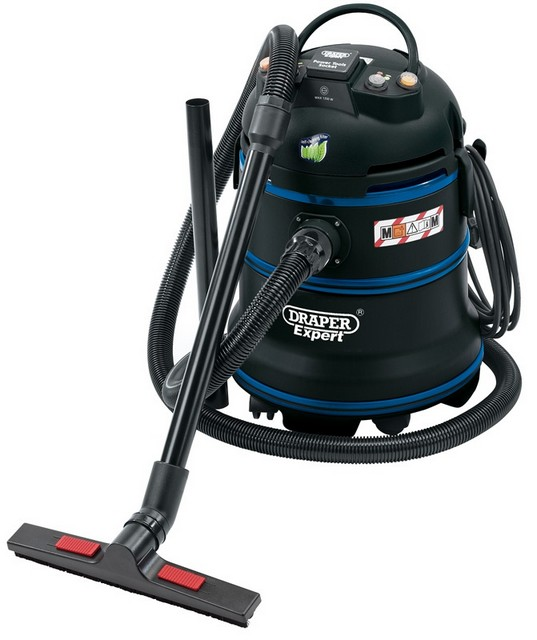 Draper DRAPER Expert 35L 1200W 230V M-Class Wet and Dry Vacuum Cleaner / Dust Extractor