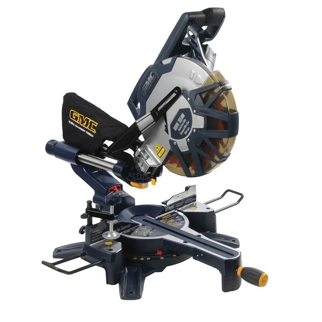 GMC 1800W Double Bevel Slide Compound Mitre Saw 305mm                      DB305SMS