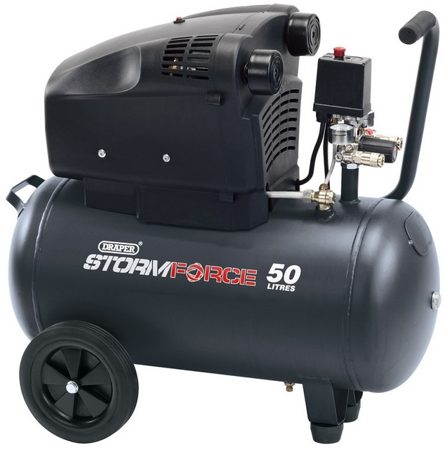 Draper DRAPER Storm Force 50L 230V 1.8kW (2.5hp)  Air Compressor