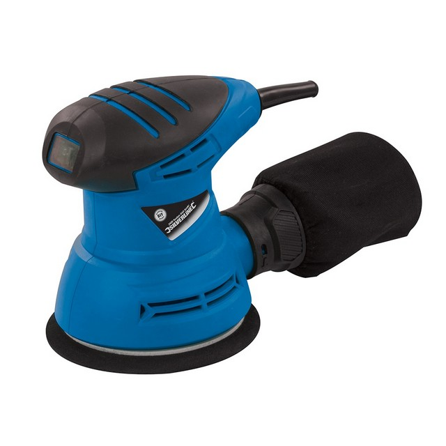 Silverline DIY 240W Random Orbit Sander 125mm                                     240W