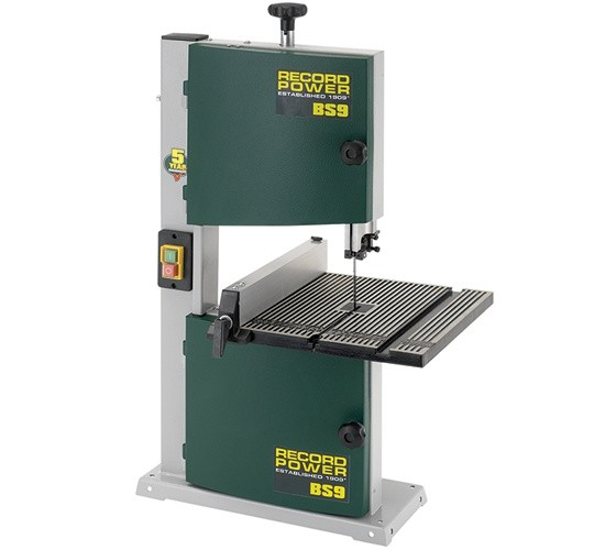 "Record Power Record Power BS9 Hobby 9"" Bandsaw"