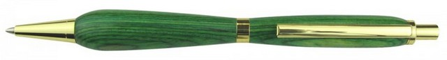 Charnwood 7mm Slimline Click Pencil, Gold