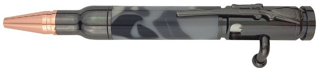 Charnwood Mini Bolt Action Pen, Gun Metal