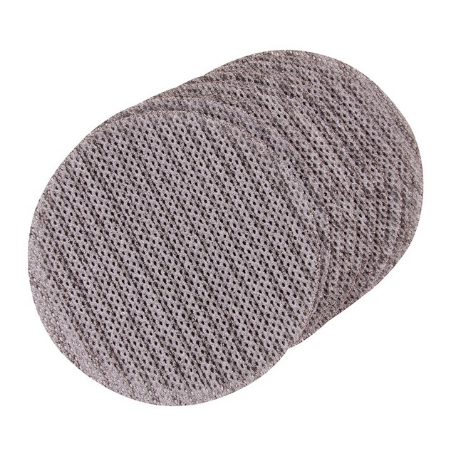 Triton Hook & Loop Mesh Sanding Disc 125mm 10pk 80 Grit
