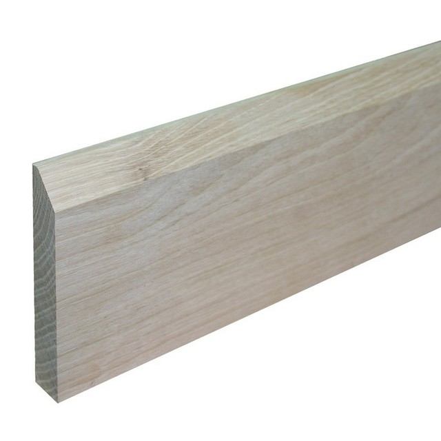 Yandles Prime Oak Skirting Chamfer