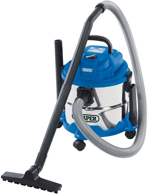 Draper DRAPER 15L Wet and Dry Vacuum Cleaner (1250W)