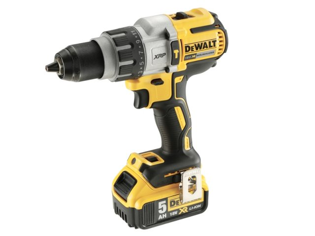 Dewalt DCD996P2B XR Brushless Combi Drill 18 Volt 2 x 5.0Ah Bluetooth Li-Ion