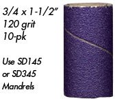 Foredom Foredom Ceramic Purple Bands 120 Grit 10pk