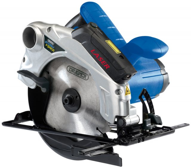 Draper Storm Force 185mm Circular Saw (1300W)